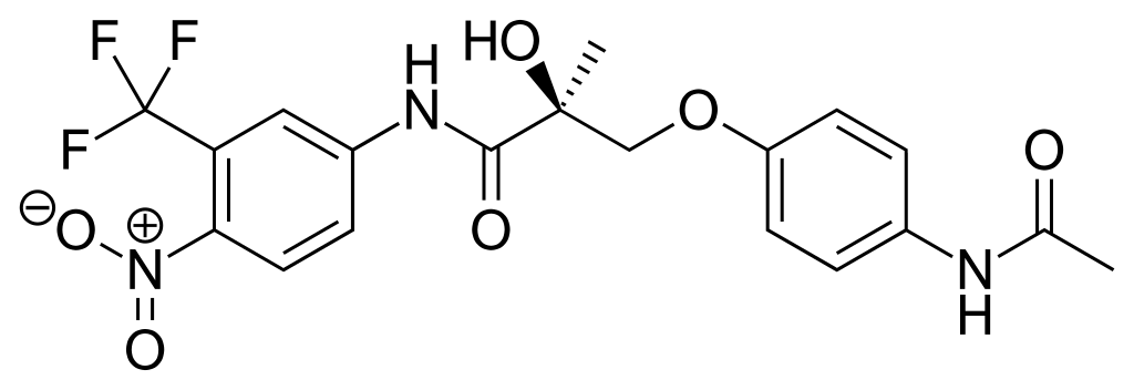 Andarine (S-4) chemical structure