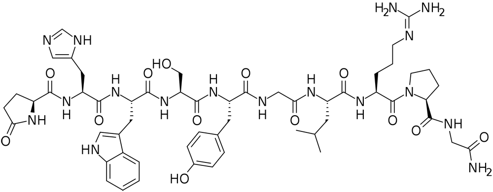 gonadorelin (gnrh) chemical structure